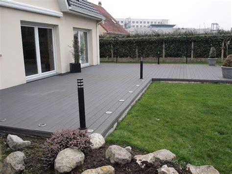 amenagement terrasse exterieur terrasse en forme de l setecnologia