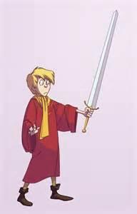 Wart Arthur Sword Stone