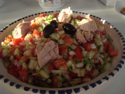 cuisine tunisienne traditionnelle salade tunisienne
