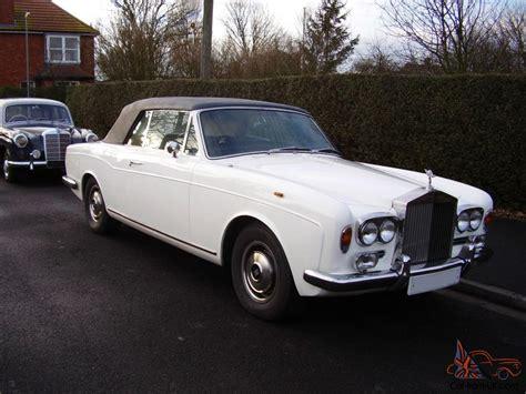 1972 Rolls Royce Corniche Rolls Royce Corniche Convertible 1972 1 Previous Owner