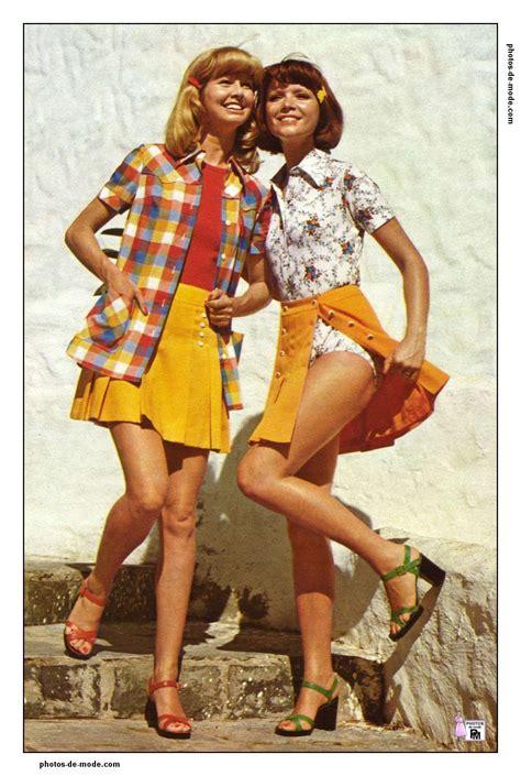 Vetement Annee 70 Mini Jupe 1973 Vintage Dress 70 S En 2018 Mode Retro Mode Et Mode Vintage