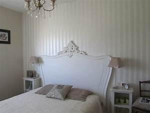 superbe papier peint chambre adulte romantique 1 papier With papier peint romantique chambre