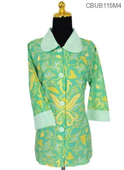 set katun batik bali vista baju batik blus tanggung katun pisang bali blus tanggung