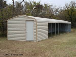 loafing sheds versatube barn loafing sheds run ins