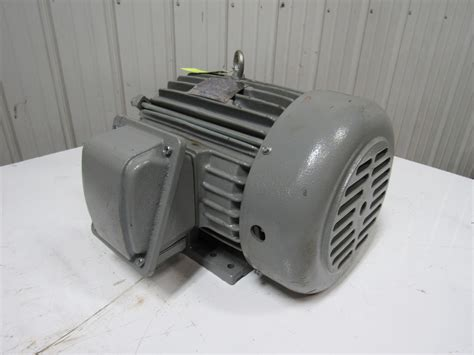 Westinghouse Electric Motor by Teco Westinghouse E0038 3hp Electric Motor 3ph 208 230