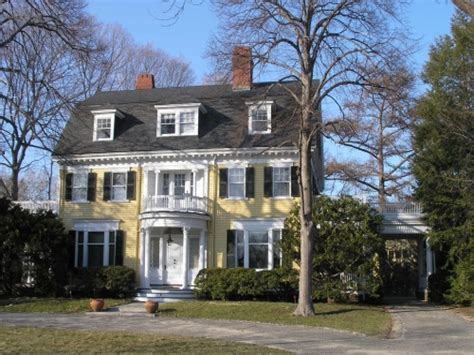 revival style homes colonial revival architecture features colonial revival