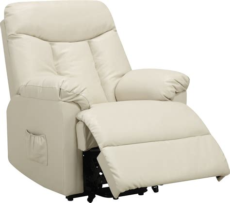 electric lift chair recliner leather power motion