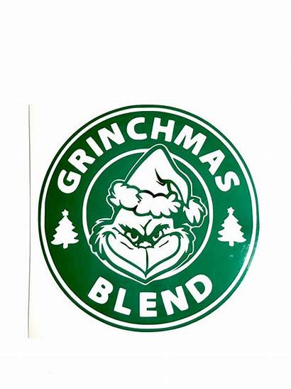 Coffee Grinch Svg Vinyl Decals Grinchmas Christmas