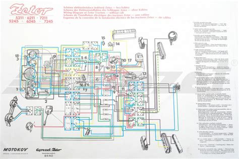 zetor 7745 wiring diagram wiring diagram