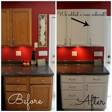 Appealing Red Kitchen With White Cabinets Pict Of Photos