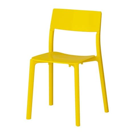 chaises jaunes janinge chair ikea