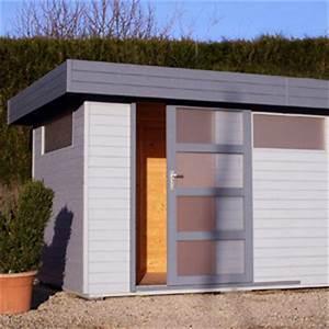 Chalet De Jardin Contemporain : abri de jardin toit plat au design contemporain import ~ Premium-room.com Idées de Décoration