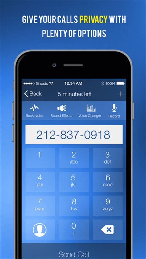 haunted phone numbers ghostcall disposable numbers that do more on the app
