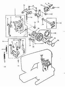 Kenmore 38512490 Mechanical Sewing Machine Parts