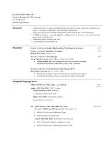 college track and field coach resume college resume for athletes