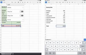 google sheets for iphone and ipad review it sucks imore With google docs app spreadsheet