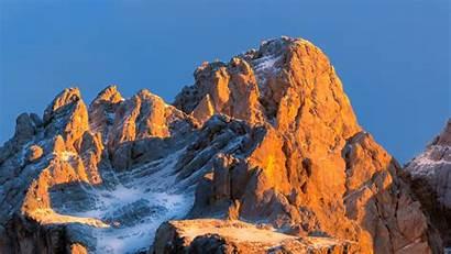 Mountain Snow Rock Snowy Stone 4k Uhd