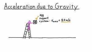 Lesson Video  Acceleration Due To Gravity