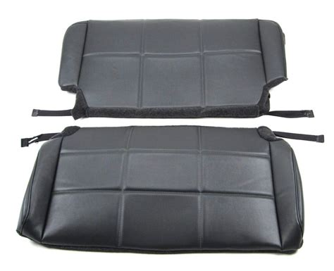 Jeep Seat Upholstery Kits by Jeep 1997 2002 Tj Rear Bench Seat Upholstery Kit Ebay