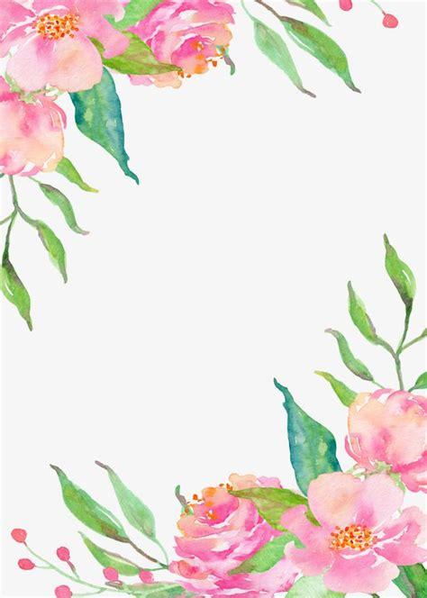 zhr alordy alhdod flower border png flower clipart