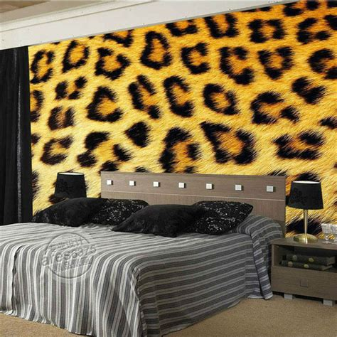 Animal Print Wallpaper For Room - buy wholesale leopard print wallpaper from china