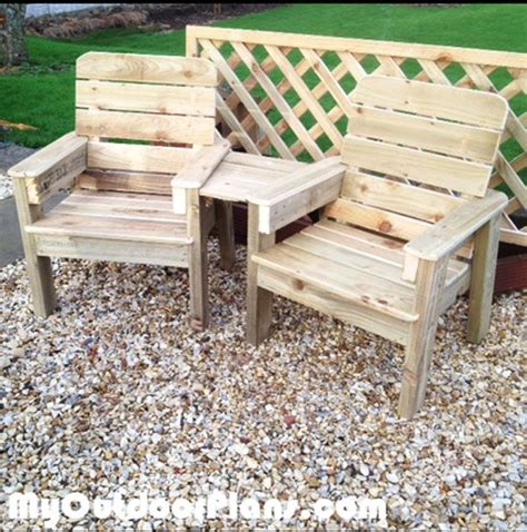 diy jack  jill chairs woodworking furniture plans