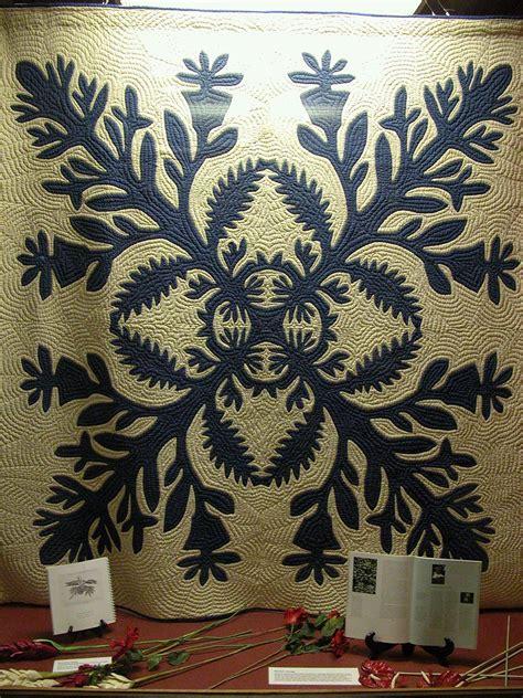 hawaiian quilt patterns hawaiian quilt pattern 2 bishop museum honolulu hawaii
