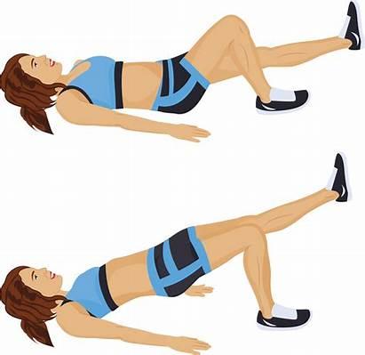 Leg Bridge Single Workout Glute Power Muscle