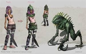 Monster Hunter Character Design by Lyraina on DeviantArt