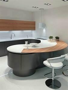 Ikea Plan De Cuisine : cuisine avec ilot arrondi cuisine en image ~ Farleysfitness.com Idées de Décoration
