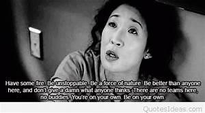 Grey's Anatomy Quote via Tumblr