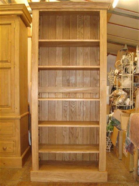 Custom Waxed Oak Bookcase   Khiam Interiors