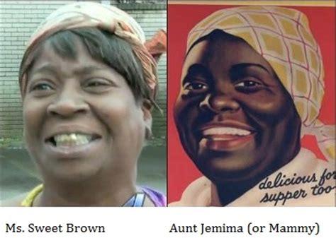 Aunt Jemima Meme - ms sweet brown embarrasses me keepin it real