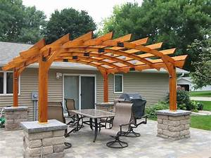 16, attractive, pergola, designs, to, beautify, your, yard, this, spring
