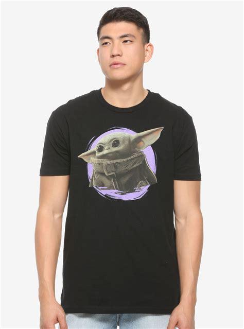 Star Wars The Mandalorian The Child Portrait T-Shirt in ...