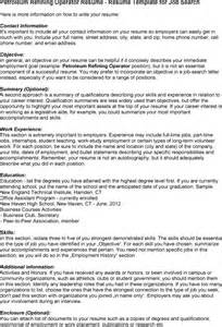 resume for refinery process operator computer operator resume resume sales operator lewesmr