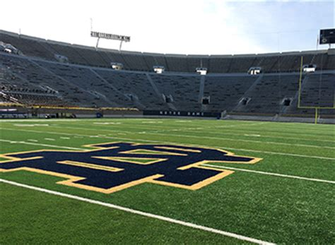 ambitious campus crossroads project brings video  iconic notre dame stadium