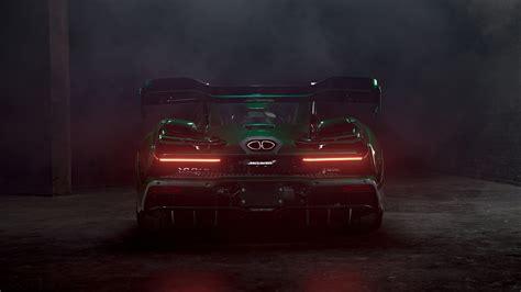 mclaren senna emerald green   wallpaper hd car
