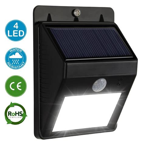 Led Solar by Bright Led Solar Powered Outdoor Security Garden Solar