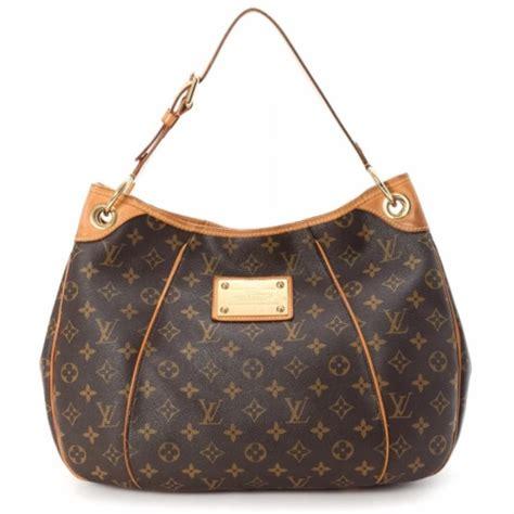 louis vuitton galliera monogram canvas brown leather hobo bag tradesy