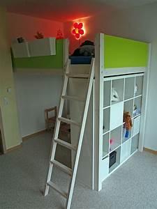 Kinderbett Unter Dachschräge : die besten 25 hochbett selber bauen ideen auf pinterest ~ Michelbontemps.com Haus und Dekorationen