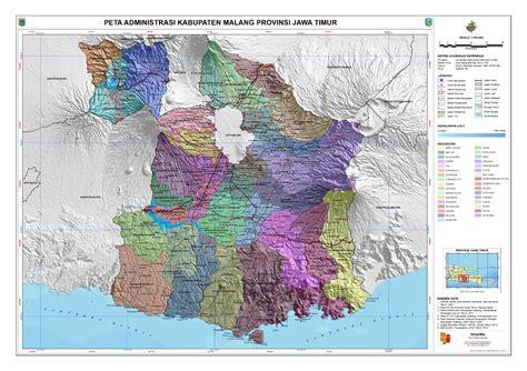 kab malang peta tematik indonesia