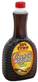 country kitchen calories country kitchen syrup butter flavored 36 0 oz nutrition 2747