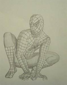 Spiderman Drawings In Pencil