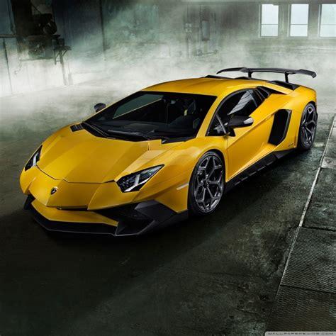 Lamborghini Aventador Lp 750-4 Superveloce 4k Hd Desktop