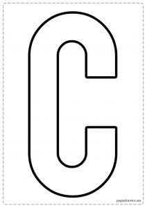 moldes gratis letras para hacer letreros y guirnaldas manualidades