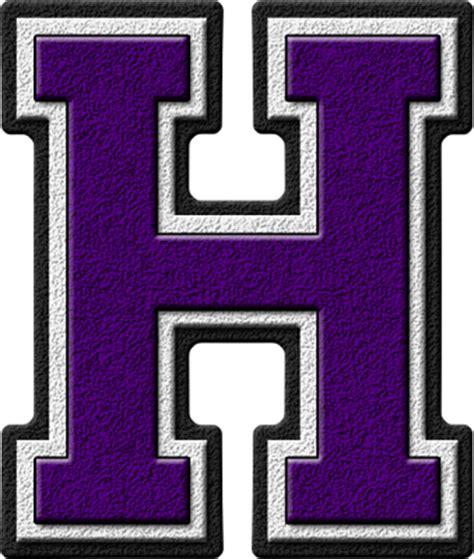 purple letter h clip purple letter h image presentation alphabets purple varsity letter h 42946