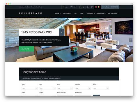 real estate wordpress themes  agencies