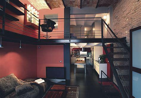 chambre style industrielle déco loft industriel décoration style industriel