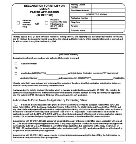 provisional patent template uspto patent application template 12 free word pdf documents free premium templates